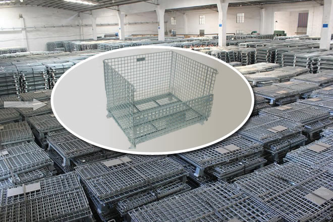 industrial wire cage zinc plate steel galvanized